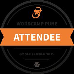 WordCamp Pune 2015