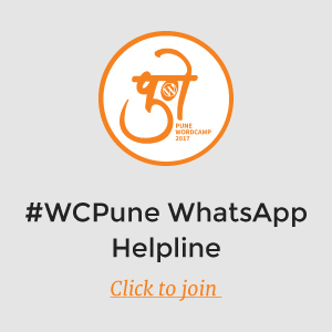 WCPune WhatsApp group link post